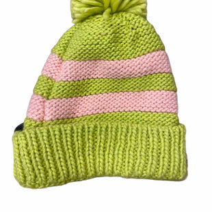 Primary Photo - BRAND: SLEEPING ON SNOW STYLE: HAT COLOR: LIME GREEN SKU: 207-207139-47030
