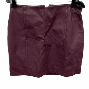 Primary Photo - BRAND: FREE PEOPLE STYLE: SKIRT COLOR: PURPLE SIZE: XS SKU: 207-207278-7815