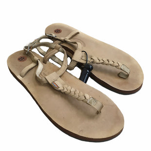 Primary Photo - BRAND:    CLOTHES MENTOR STYLE: SANDALS FLAT COLOR: TAN SIZE: 10 SKU: 207-207299-1061