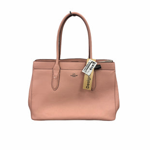 Primary Photo - BRAND: COACH STYLE: HANDBAG DESIGNER COLOR: PINK SIZE: MEDIUM OTHER INFO: AS IS W/ DUSTBAG SKU: 207-207299-1565