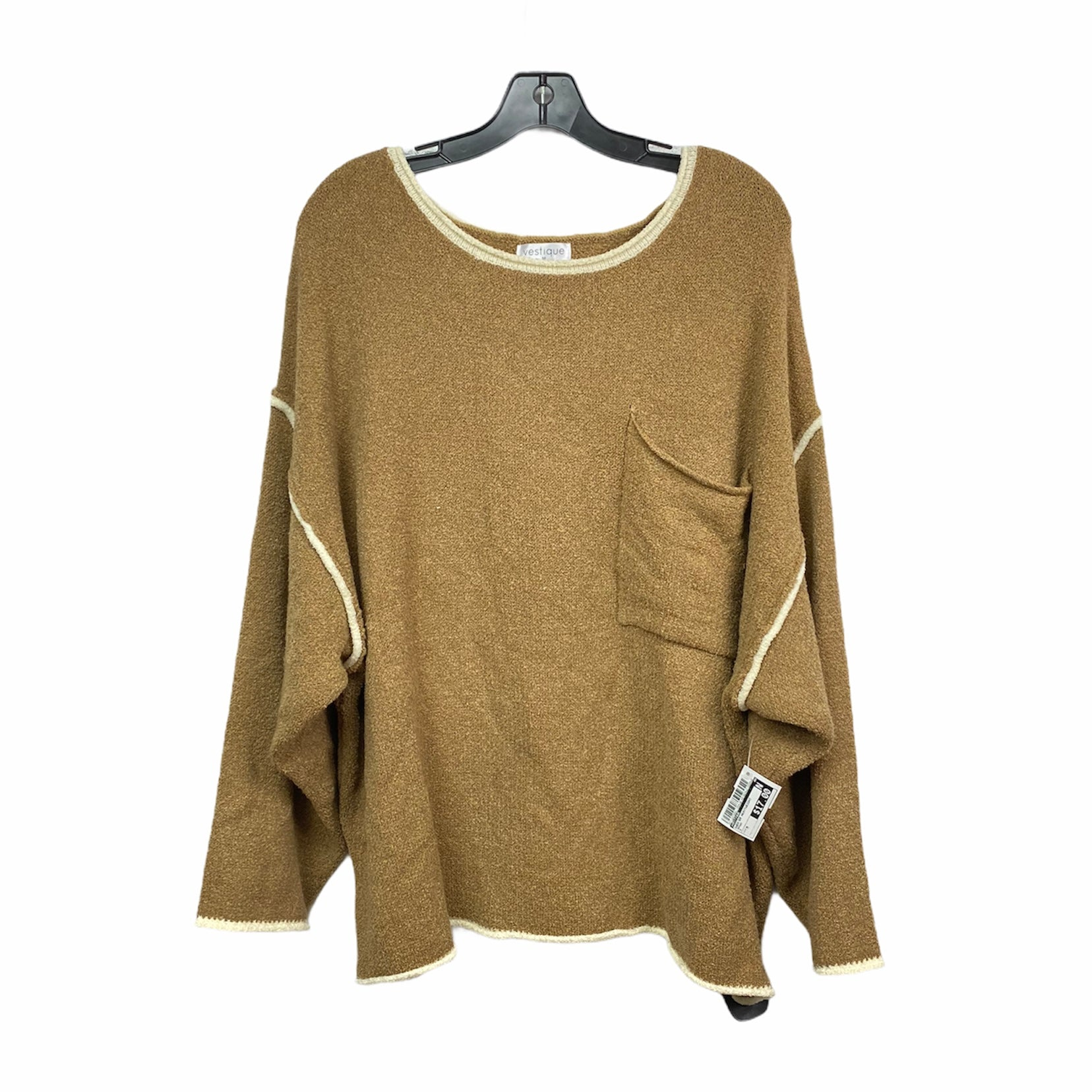 Primary Photo - BRAND: VESTIQUE <BR>STYLE: SWEATER HEAVYWEIGHT <BR>COLOR: BROWN <BR>SIZE: M <BR>SKU: 207-207234-7058