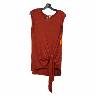 Primary Photo - BRAND: ANTHROPOLOGIE STYLE: TOP SLEEVELESS COLOR: RUST SIZE: S SKU: 207-207256-5082