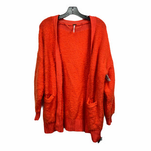 Primary Photo - BRAND: FREE PEOPLE STYLE: SWEATER CARDIGAN HEAVYWEIGHT COLOR: ORANGE SIZE: XS SKU: 207-207278-8160
