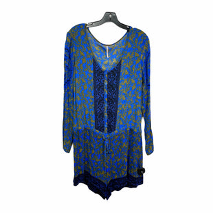 Primary Photo - BRAND: FREE PEOPLE STYLE: DRESS SHORT LONG SLEEVE COLOR: BLUE SIZE: S SKU: 207-207288-2701