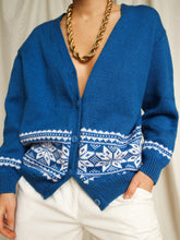 "Load image into Gallery viewer, ""Avoriaz"" knitted cardigan - lallasshop"