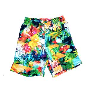Jungle Paradise Swim Shorts - FashionFishDesigns