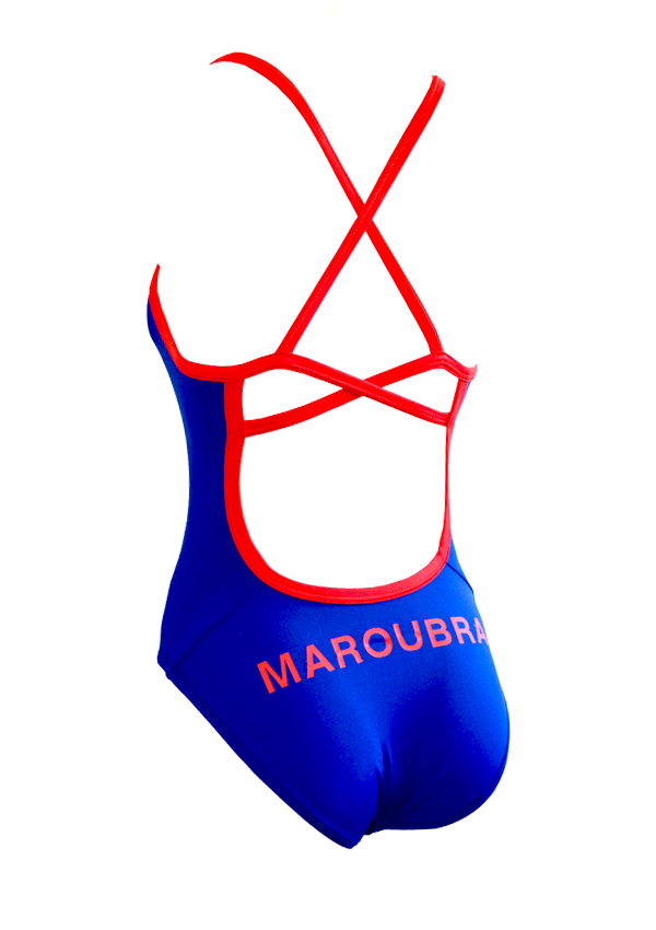Maroubra SLSC Ladies One Piece - FashionFishDesigns