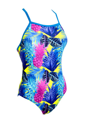 Pine Lime Ladies One Piece - FashionFishDesigns