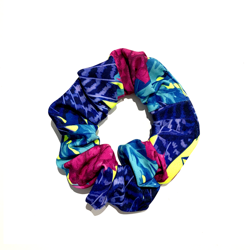 Pine Lime Scrunchie - FashionFishDesigns
