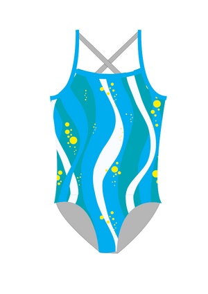 Ripples St Mary's Girls One Piece - FashionFishDesigns