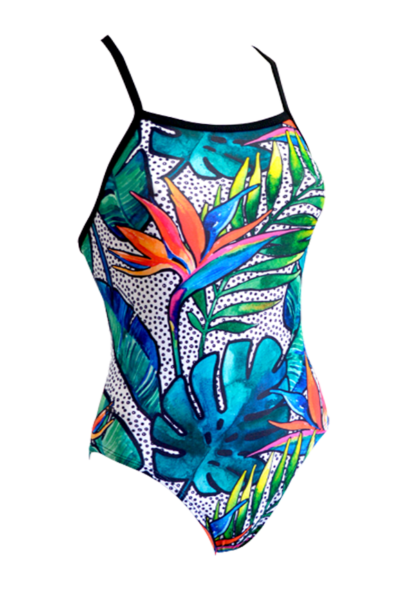 Tropical Troppo Ladies One Piece - FashionFishDesigns