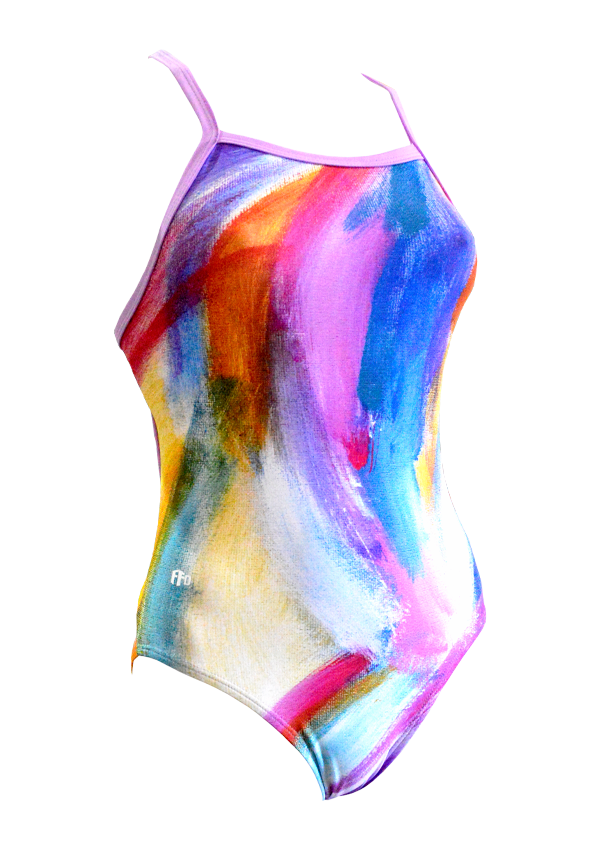 Colour Is Confidence - By Zoe Girls One Piece