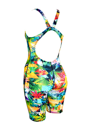 Jungle Paradise Ladies Leg Suit - FashionFishDesigns