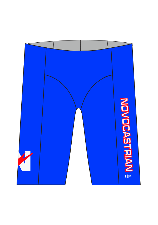 Novocastrian Swim Club Boys/Men Knicks - FashionFishDesigns