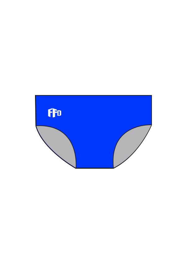 Terrigal SLSC Boys/Mens PLAIN Briefs - FashionFishDesigns