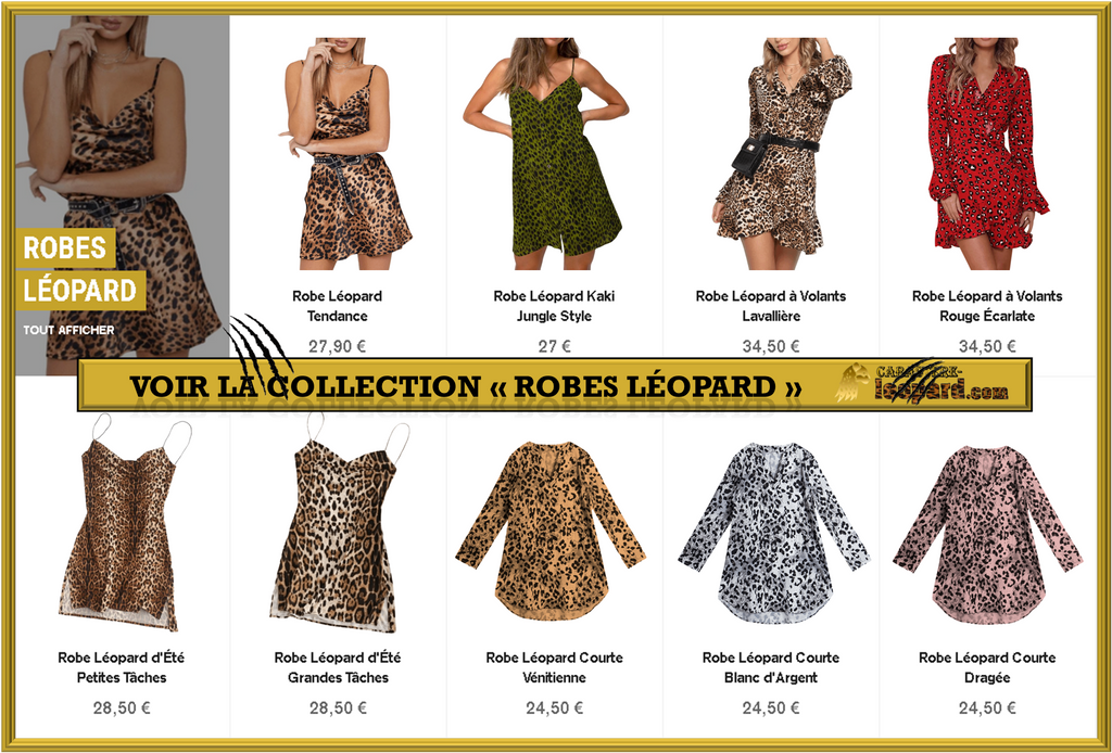 Collection - Robes Léopard