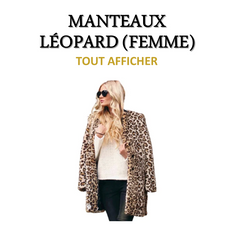 Collection de Manteaux Léopard (Femme)