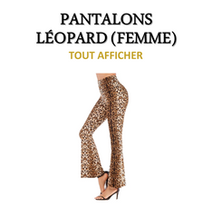 Collection de Pantalons Léopard (Femme)