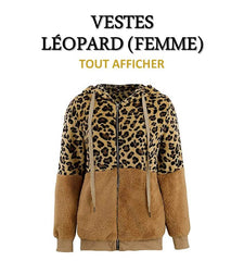 Collection de Vestes Léopard (Femme)