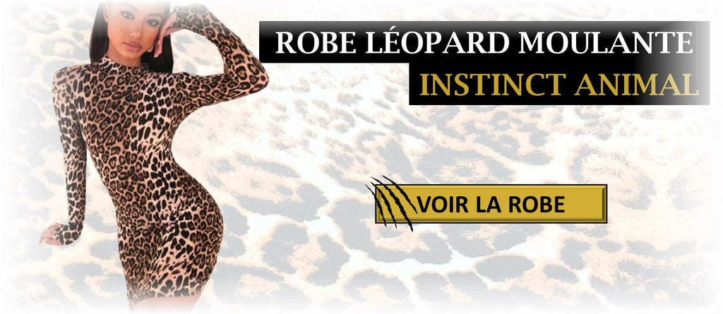 Robe Léopard Moulante - Instinct Animal