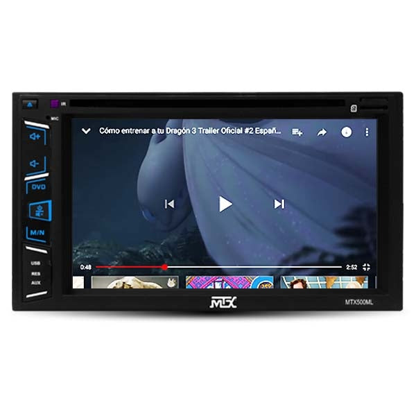 Autoestéreo Pantalla Mtx Audio Bluetooth Mirrorlink+ Cam Rev