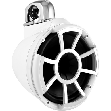 "Bocinas de Torre Marinas Wet Sounds REV 10 W-FC V2 MINI 10"" Color Blanco Revolution Series Con Mini Abrazaderas Fijas TC3 Diámetro para tubos de 1"" a 1 7/8"" - Audioshop México lo mejor en Car Audio en México -  Wet Sounds"