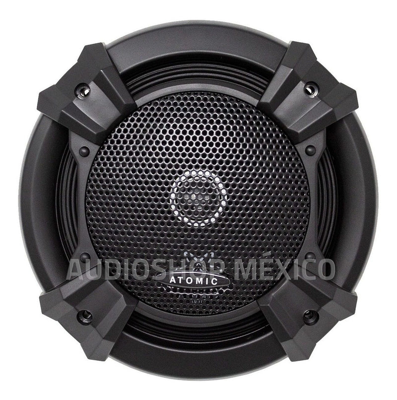 Paquete 2 Set De Medios 6.5 PuLG 300 Rms Atomic Audio Titanium65sq - Audioshop México lo mejor en Car Audio en México -  Atomic Audio