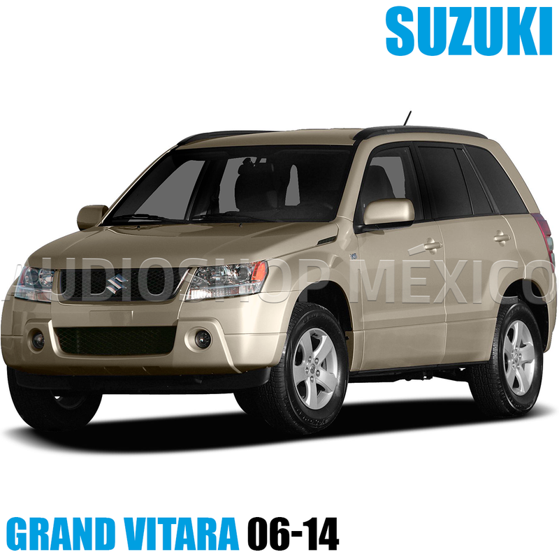 Placa Frente Estéreo Hf0850dd Doble Din Grand Vitara 06-14