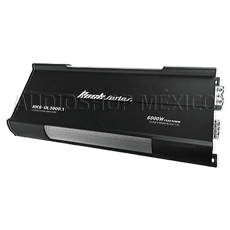 Amplificador Monoblock Rock Series Rks-ul3000.1 6000 Watts Clase D Competencia Spl - Audioshop México lo mejor en Car Audio en México -  Rock Series