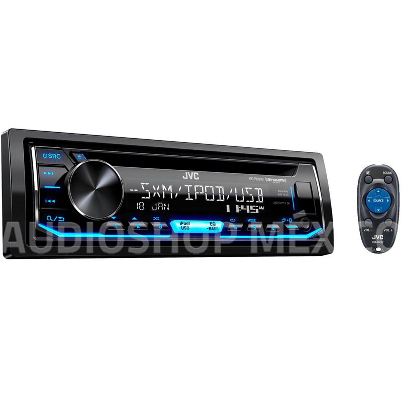 Autoestereo Jvc Kd-r690s 1 Din Bluetooth Car Audio Android