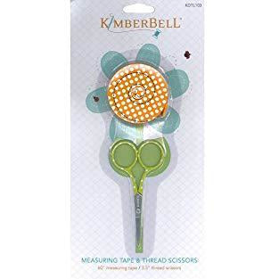 Kimberbell Measuring Tape and Thread Set Scissors, none
