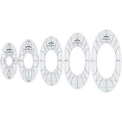 Amanda Murphy Every Oval Sewing templates