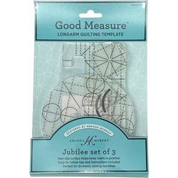 Amanda Murphy Long Arm Sewing 3 Piece Template Set