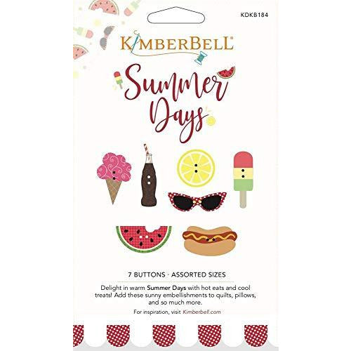 Kimberbell Summer Days Buttons (KDKB184)