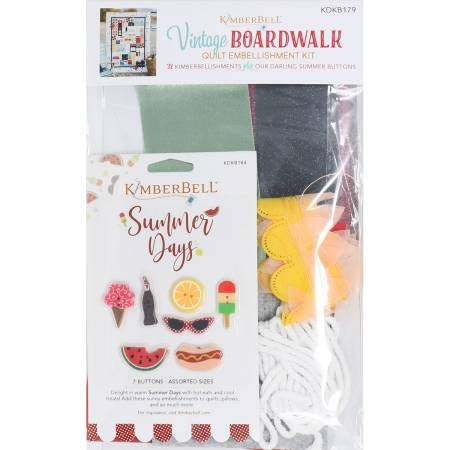 Kimberbell Vintage Boardwalk Embellishment Kit (KDKB179)