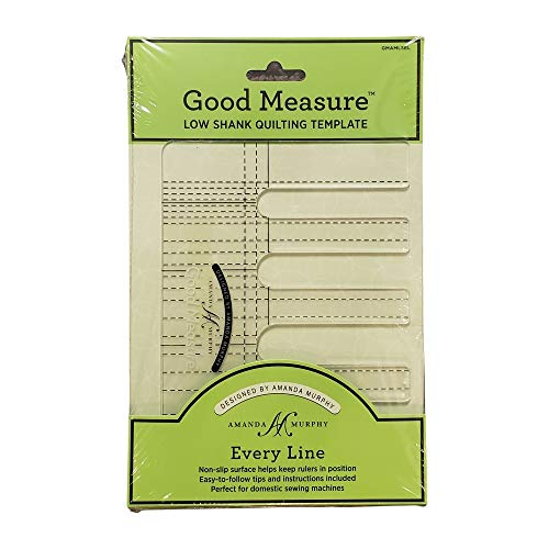 Good Measure - Low Shank Every Line Quilting Templates by Amanda Murphy