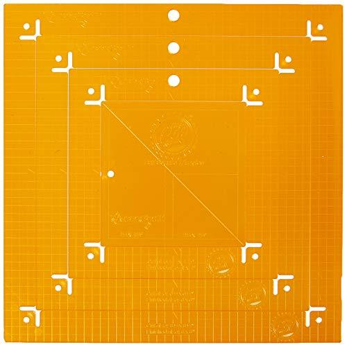 Kimberbell KimberBell Orange Pop Ruler Set - Square, Multi