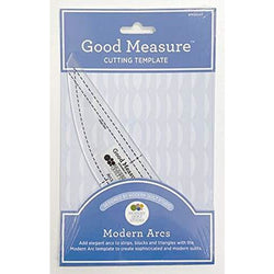 Good Measure - Modern Arcs Cutting Template by Modern Quilt Studio