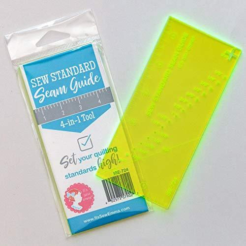 Seam Guide 4 in 1 Sewing Tool Plastic Measurement Quilting