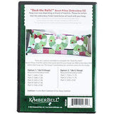Kimberbell Deck The Halls Bench Pillow Pattern