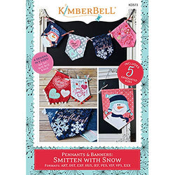 Kimberbell Pennants & Banners: Smitten with Snow Machine Embroidery CD KD573