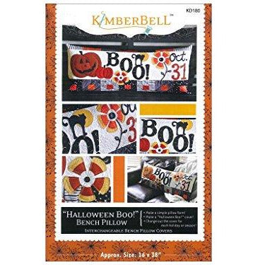 Kimberbell Halloween Boo! Bench Pillow Pattern