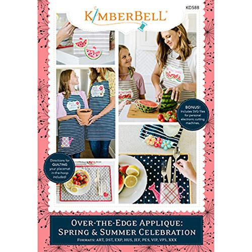 Kimberbell Machine Embroidery CD: Over-The-Edge Applique: Spring & Summer Celebration