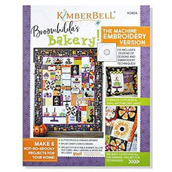 Kimberbell Designs: BROOMHILDA's BAKERY Embroidery CD & Book KD804