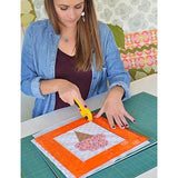 KimberBell Orange Pop Ruler Set - Rectangle