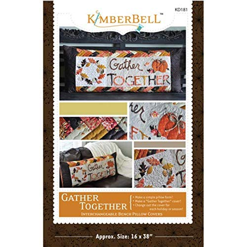 Kimberbell Gather Together Bench Pillow Pattern