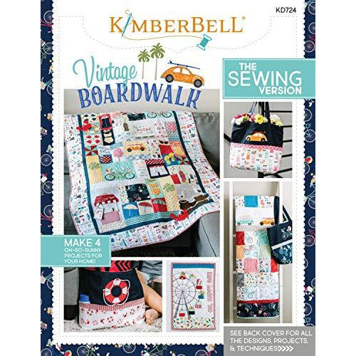 Kimberbell Vintage Boardwalk The Sewing Version (KD724)