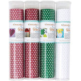Kimberbell Red Polka Dot Glitter Sheet