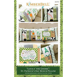 Kimberbell Luck O' The Charm: St. Patrick's Day Bench Pillow Sewing