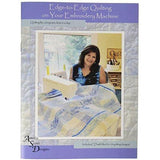 Amelie Scott Designs 616913540337 Edge Quilting on Your Embroidery Machine
